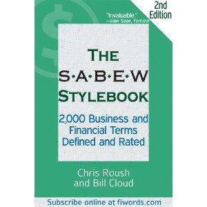 SABEW Stylebook